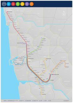 La carte du Métro de Porto avec les informations sur l'itinéraire des lignes, les horaires, les tickets, les tarifs, les zones, les stations et le site internet officiel. Téléchargez le PDF.