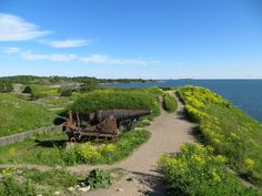 Suomenlinna Fortress, Helsinki, Finland, is a UNESCO World Heritage Site due to its uniqueness of military architecture.