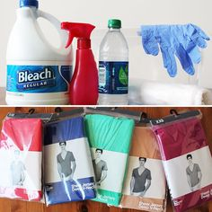 How to Use Bleach to Make Your Own Custom T-Shirts | Brit + Co.