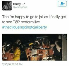 #thecliqueisgoingtojailparty
