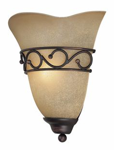 Rosina Wall Sconce in Bronze