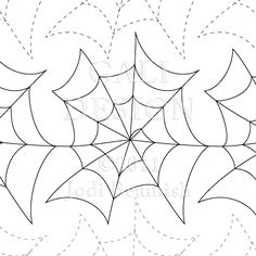 "Entangled - Paper - 9"" - Quilts Complete - Continuous Line Quilting Patterns"