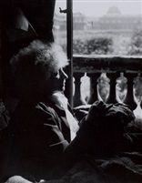 Colette: Portrait de l'écrivain dans son appartement au Palais Royal, Paris (Paul Almasy, 1946)