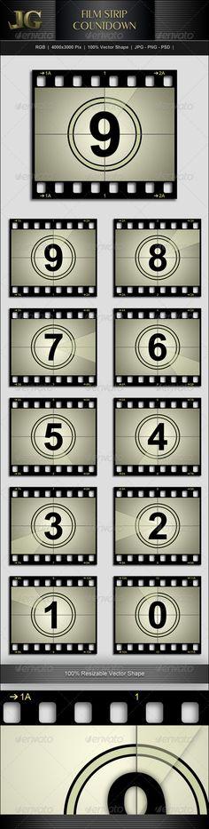 Film Strip Countdown http://graphicriver.net/item/movie-strip-countdown/5821457?ref=creativetouch