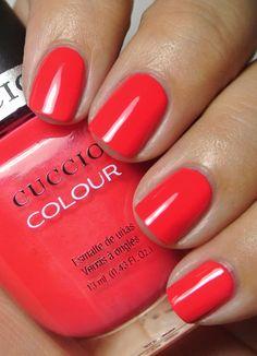 Cuccio Colours - Chillin in Chile.   It's a pretty coral creme.