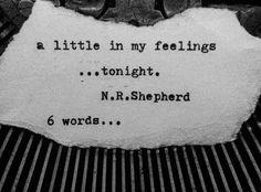 All kinds of things can get you in your heart. What gets you in the feels? Songs, news, poems. ..#loss #friends #love #death #memories #movingon #missingyou #bestfriends #breakups #inmyfeelings #brokenheart #6wordstory #imissyou #sixwordstory #poet #poetry #poem #poetsofinstagram #poetsofig #poetryisnotdead #typewriterpoetry #spilledink #writer #words #writersofig #writersofinstagram #inmyfeelings #wrtiterscommunity #poetsociety #wordporn #poemsporn