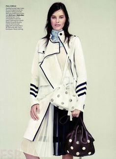 Vogue US March 2015 | Anna Ewers | Willy Vanderperre