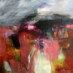 Landscapes, landscape painting, landscape art by Patricia Sadler Landscape Artwork, Abstract Landscape Painting, Seascape Paintings, Art Paintings, Abstract Art Images, Contemporary Abstract Art, Contemporary Landscape, Collage, Acrylics