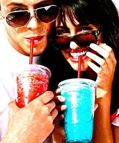 Slushy time! They were a really good couple on and off screen which makes it so much harder to say goodbye