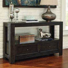 Signature Design by Ashley Gavelston Sofa Table - T752-4
