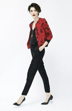 Parker Jacket & Silk Jumpsuit  available at #Nordstrom