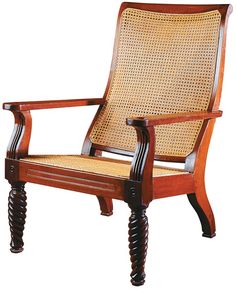 British Khaki Lord Litton Lounge Chair