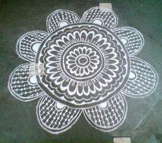 kolam | Nits Arts and Crafts: Karthikai Kolam