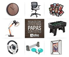 ¡No más corbatas ni pañuelos! En Altea tenemos las mejores opciones para Papás con estilo:  a) Reloj de pared Cód. 118413-048 / $77.50 ivi b) Silla para escritorio anatómica Cód. ESE-367/ $180 ivi c) Porta retratos Cód. 316091-213 /$87.50 ivi d) Lámpara Rocky Cód. K36592 / $209 ivi. e) Futbolín KARE Cód. k75178 / $849 ivi  f) Reloj manivela Cód. K36672 / $209 ivi g) Set de ping pong Cód. 480280-332 / $76 ivi h) Porta retratos Cód. 311115-040 / $44 ivi  Visítanos diagonal al vivero Exótica… Altea, Stationary, Bike, Desk Chairs, Vivarium, Ties, Presents, Accessories, Style