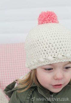 Crochet Bobble Hat :)