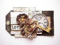 Love- Tag- August Prima Special Delivery kit - Scrapbook.com