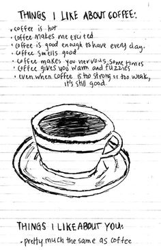 the things i like about coffee