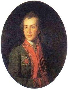 Князь Григорий Семёнович Волконский (1742 – 1824), сын князя Семёна Фёдоровича Волконского (1703 – 1768) и Софьи Семёновна, урожд. княжны Мещерской (1707 – 1777). Женат на Александре Николаевне, урожд. княжне Репниной (1757 – 1834).