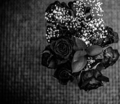 """©Adrienne Russell Photography, L.L.C.  """"Send me dead flowers every day.    Send me dead flowers to my wedding.   Send me dead flowers by the mail.    And I won't forget to put roses on your grave...""""  -The Stones (of course)"""