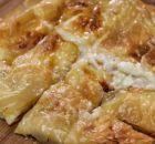 Spanakopita, Greek Recipes, Feta, Macaroni And Cheese, Pork, Chicken, Breakfast, Cake, Ethnic Recipes
