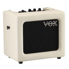 Vox Mini3 - 3W Battery-Powered Guitar Combo Amp - (Ivory/White)