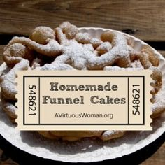ABC's of Summer Fun {F is for Funnel Cake} | A Virtuous Woman #summer