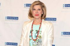 Christine Baranski honored at The Plaza as part of Einstein's 2014 Spirit of Achievement Award Luncheon.