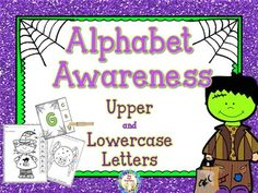 Matching Upper and Lowercase LettersYour students will have fun matching upper and lowercase letters with these Halloween themed activities at your literacy centers or small groups.  Table of ContentsClip-It Cards Uppercase - put a clip on the lowercase lettersClip-It Cards Lowercase - put a clip on the uppercase lettersBlack and White Clip-It CardsWorksheets - 10 worksheets with upper and lowercase lettersAlphabet Mini Books - a foldable book for each letter.