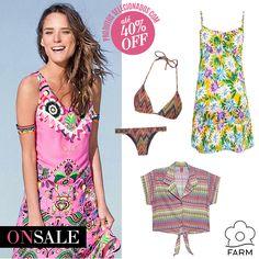Compre moda com conteúdo, www.oqvestir.com.br #Fashion #Summer #News #Farm #Sale #Shop