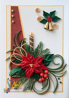 Neli Quilling Art: Preparation for Christmas _ # 2