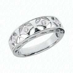 Would work well as a wedding band, right hand ring finger, but would look fabulous on your right hand pointer finger!
