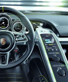 The 2013 Porsche 918 Spyder