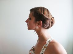 DIY: twisted updo