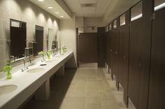 Church restroom design idea