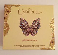 Pur Minerals Disney Cinderella Palette Limited Edition 2015 #PurMinerals