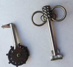 keys 73, 74 other side #upcycled, #steampunk #sculpture #artproject