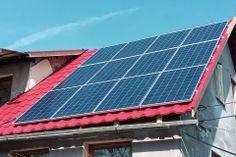 Napelemes családi ház. Solar Panels, Outdoor Decor, Home Decor, Homemade Home Decor, Sun Panels, Roof Solar Panels, Interior Design, Home Interiors, Decoration Home
