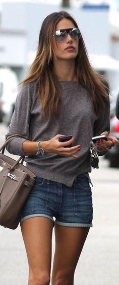Street Fashion Alessandra Ambrosio