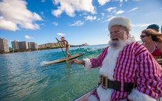 Parades, craft fairs and appearances by Santa himself? It's beginning to look a lot like Christmas. Waikiki Beach, Honolulu Hawaii, Oahu, Christmas Travel, Holiday Travel, Christmas Holiday, Hawaii News, Hawaii Vacation, Holidays And Events