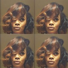 Teyana Taylor- hair and color