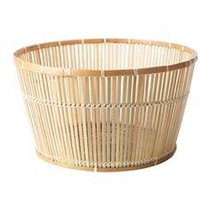 Viktigt basket, bamboo Diameter: 60 cm Height: 33 cm