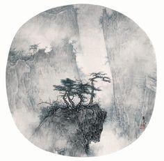 李華弌 - Google 搜尋 Chinese Painting, Chinese Art, Chinese Style, Ink Painting, Watercolor Paintings, Deco Paint, Oriental, Mountain Paintings, Ink Art