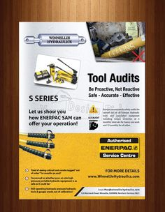 Brochure Design for WINNELLIE HYDRAULICS from yourdesignpick.com