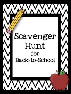 An activity that I have done every year with my students is a Classroom Scavenger Hunt.  I always do it the first few days of school to hel...