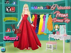 Piękna Barbie wybiera się na studniówkowy bal. Co wybierze ze swojej obszernej garderoby? http://www.ubieranki.eu/ubieranki/9786/ksiezniczka-na-bal.html