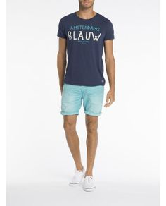 Amsterdams Blauw T-shirt - Scotch