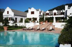 Guest House - #Franschhoek Manor. This  is a heaven of tranquillity for all those looking for some rest and peace in luxurious surroundings.
