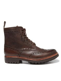 """The """"Fred"""" Wingtip Boots"""