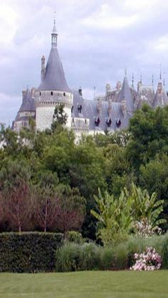 Chaumont chateau from the garden festival