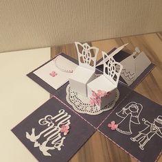 #EPLOSIONSBOX #motivation #loveit #mitbringsel #wedding #Hochzeit #Geldgeschenk#JANASIDEENREICH #card #paperkraft#instagood